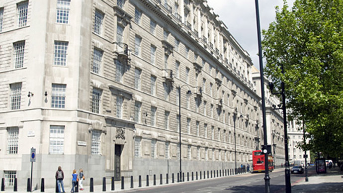 The MI5 headquarters in central London. (Image from mi5.gov.uk)