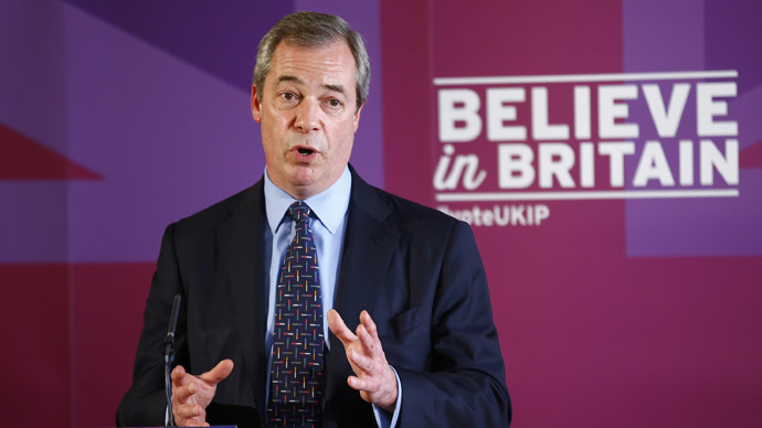 UKIP denies pact with far-right Britain First