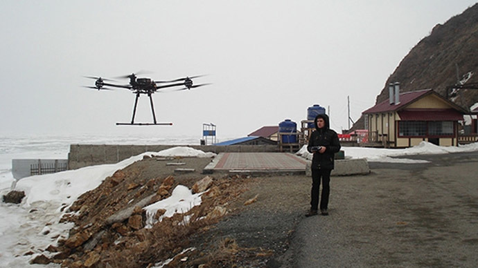 Russia develops Arctic quadcopter to detect oil pollution, measure thickness of ice