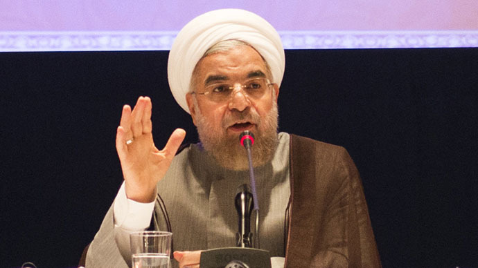 President Rouhani: Iran won't sign final nuclear deal unless all sanctions lifted
