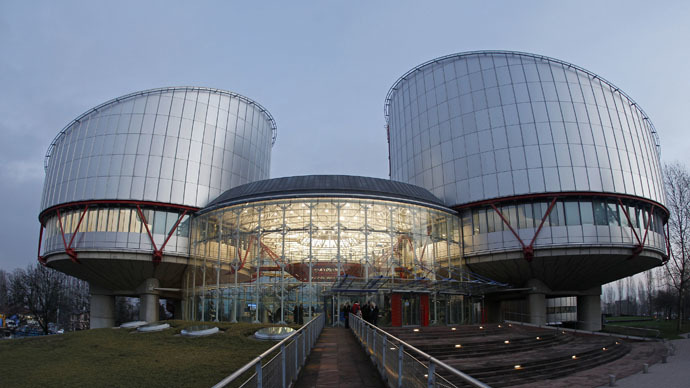 The European Court of Human Rights in Strasbourg, France. (Reuters/Vincent Kessler)