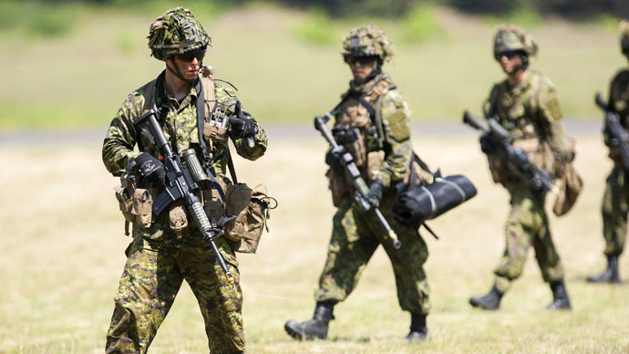 Canada to send troops to Ukraine 'in non-combat role' - report