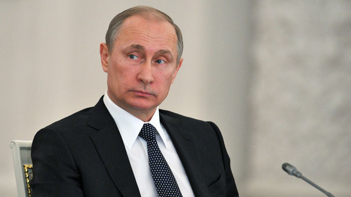 Russian President Vladimir Putin (RIA Novost/Michael Klimentyev)
