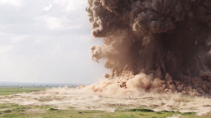Appalling ISIS video shows ancient Assyrian city of Nimrud being razed to ground