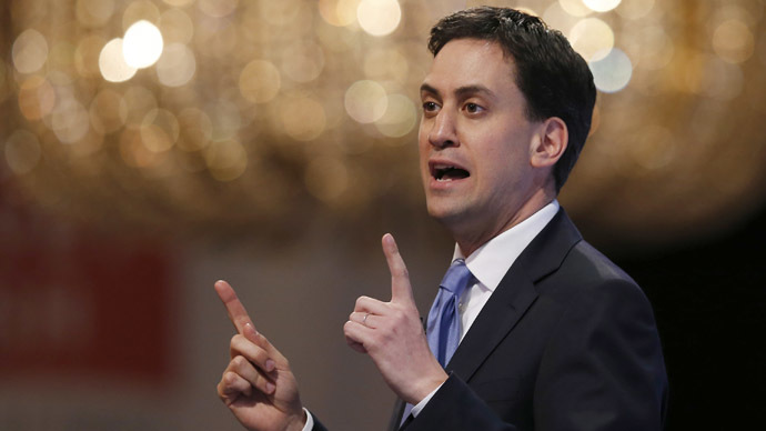 ​Labour 2015 manifesto: Miliband pledges to 'balance books,' cut deficit, up minimum wage