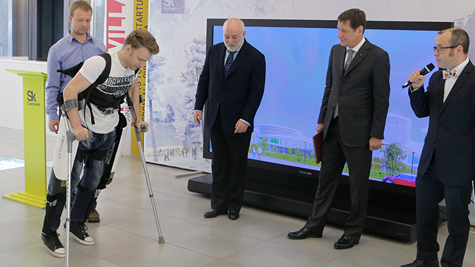 Russian start-up to clinically test first human exoskeleton