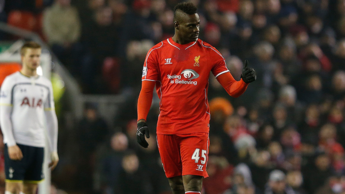 Liverpool's Mario Balotelli (Reuters / Phil Noble)