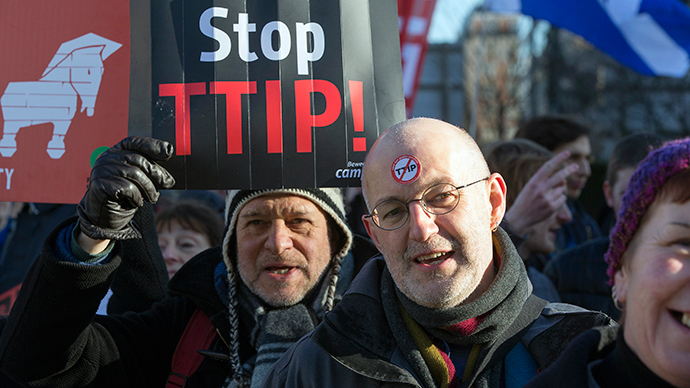 ​TTIP vs Democracy: London activists to resist controversial EU-US trade deal