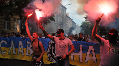 Hard tackle: Polish rugby fans threaten to kill Ukrainian nationalists, return Lvov to Poland