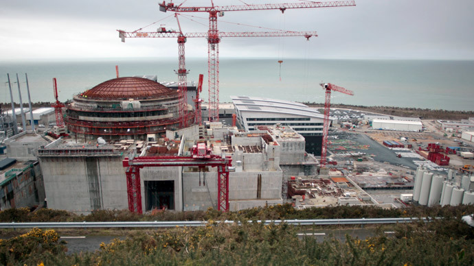 The construction site of the third European generation Pressurised Water Reactor (EPR) in Flamanville.(AFP Photo / Charly Triballeau)