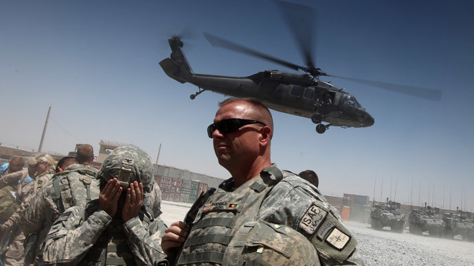 US forces in southern Afghanistan Operations Director General Frederick 'Ben' Hodges.(AFP Photo / Ed Jones)