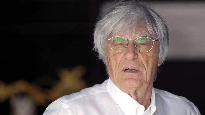 Formula One commercial supremo Bernie Ecclestone. (Reuters/Caren Firouz)
