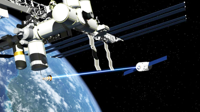 ​ISS may be fitted with lasers to shoot space junk out of orbit