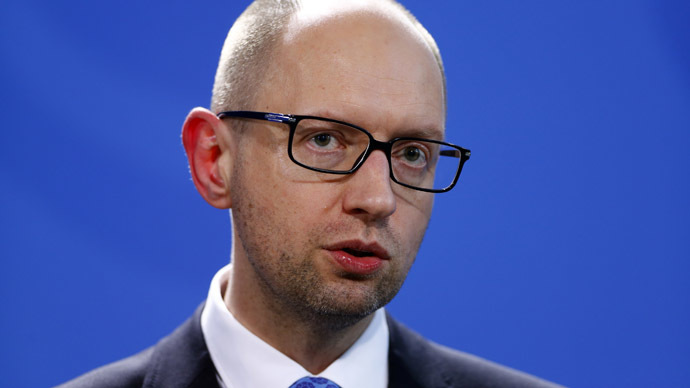 Ukraine lost $3bn over conflict in Donbass - Yatsenyuk