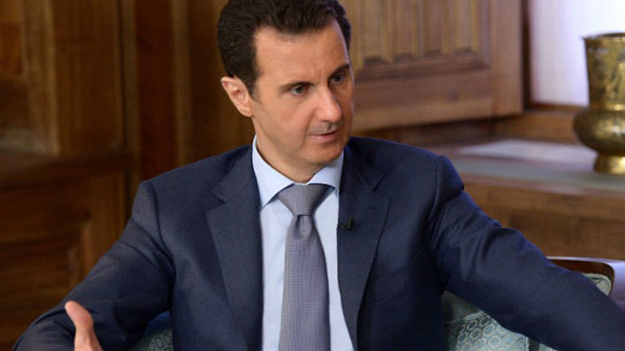 Assad: France supporting 'terrorists' in Syria, acts as Washington's satellite