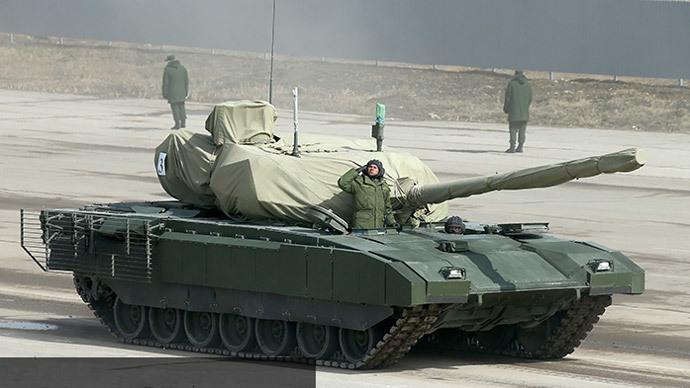 Armata T-14 main battle tank (image from http://mil.ru)