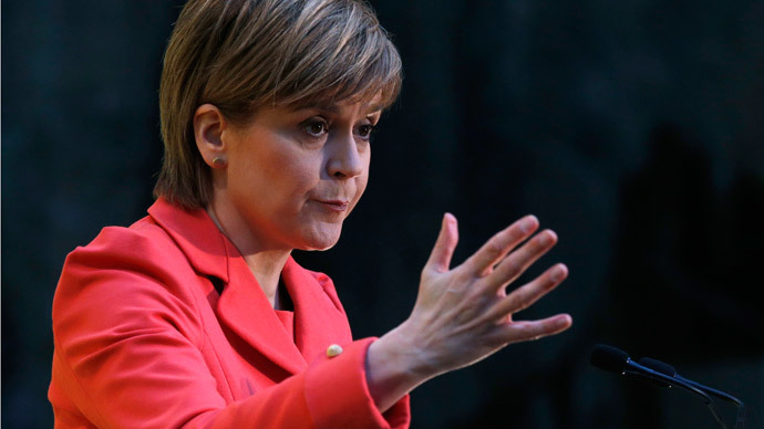 ​'Most dangerous woman in Britain': Establishment press attack SNP's Sturgeon