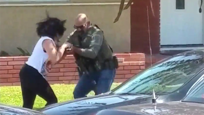 ​Feds investigating video of US Marshal destroying woman's camera