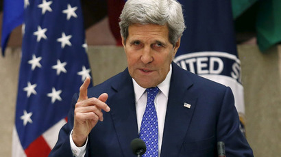 United States Secretary of State John Kerry (Reuters/Gary Cameron)