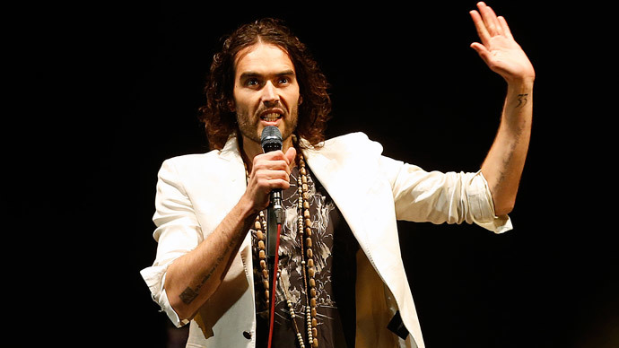 'Emperor's New Clothes': Russell Brand calls UK general election 'irrelevant'