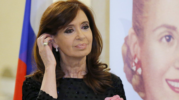 Argentine president: RT answers world's demand for all-inclusive news coverage