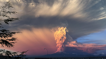 Ash turns Chile town into post-apocalyptic scene after Calbuco eruption (PHOTOS)