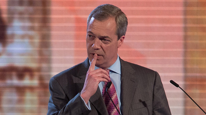Nigel Farage the leader of UKIP (Reuters / Stefan Rousseau)