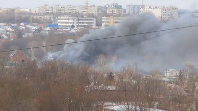 Fatal blast at fireworks shop in Central Russian city of Oryol (VIDEOS)