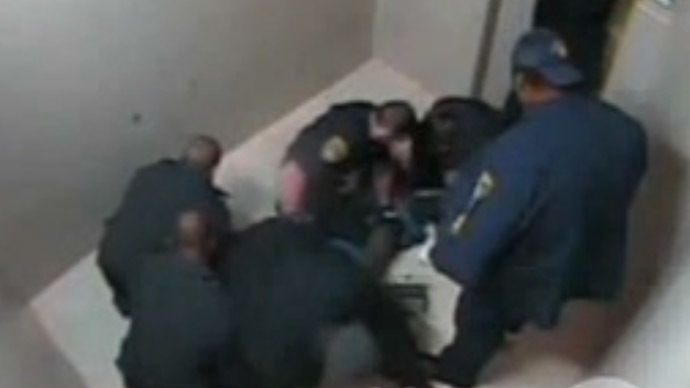 Death in jail cell: Video reveals man arrested for 'sagging pants' left to die