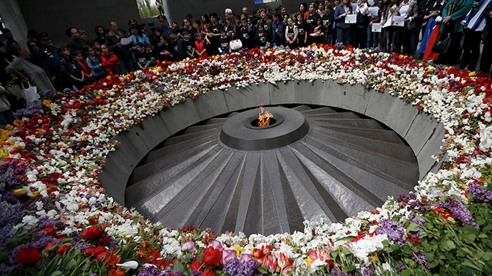 Armenia marks 100 years since genocide by Ottoman Turks
