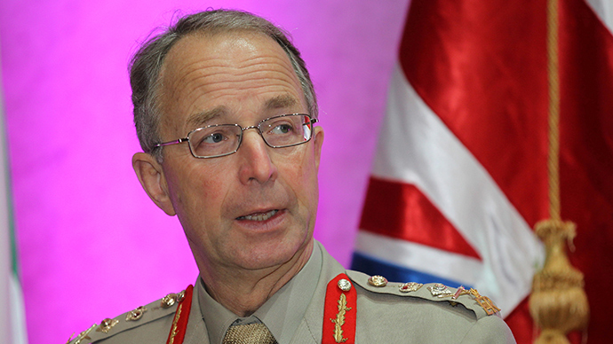 Britain's Chief of Defence Staff General David Richards (Reuters / Mohammed Dabbous)