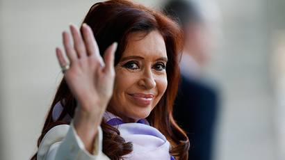 Argentina's President Cristina Fernandez de Kirchner (Reuters / Ueslei Marcelino)