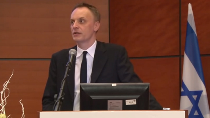 Richard Horton, Editor of the Lancet (Screenshot from youtube.com video)
