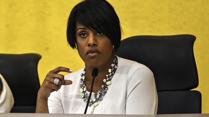 Baltimore Mayor Stephanie Rawlings-Blake. (Reuters/James Lawler Duggan)