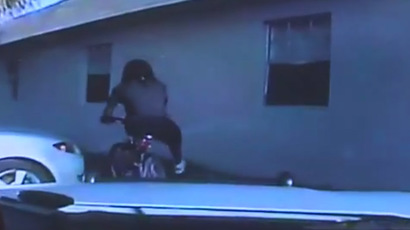Footage of Dontrell Stephens moments before he was shot multiple times (Still from Youtube video)