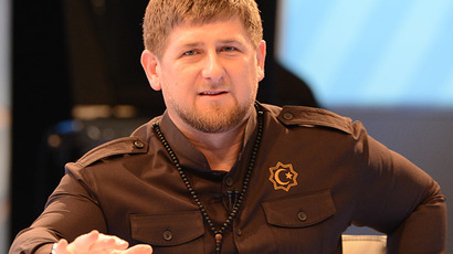 Head of the Chechen Republic Ramzan Kadyrov. (RIA Novosti/Said Tsarnaev)