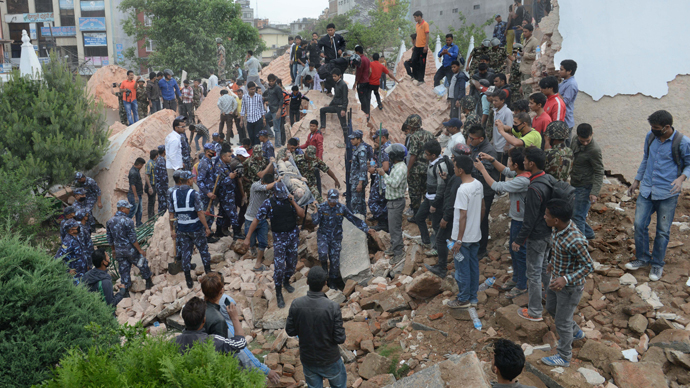 Over 1,800 killed after 7.9-magnitude earthquake strikes Nepal