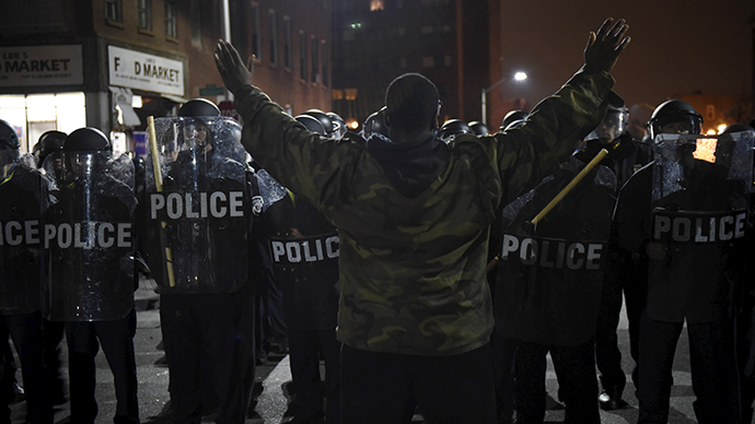 Gangs join forces to 'take out' cops, Baltimore PD alleges