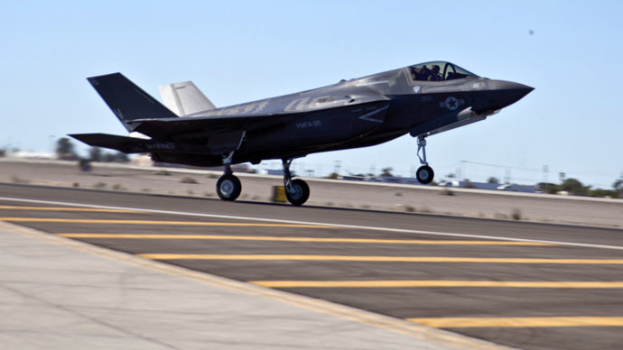But does it fly? Government auditors blast poor F-35 engine performance