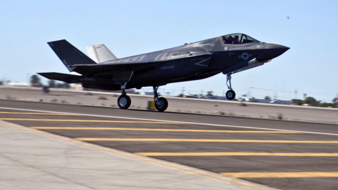 Lockheed Martin F-35 jet fighter (Reuters / U.S. Marine Corps / DVIDS / Cpl. Shelby Shields)
