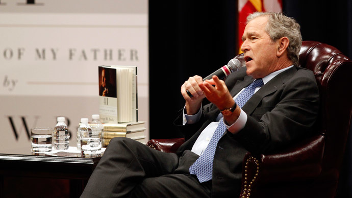 Former United States President George W. Bush.( Reuters / Mike Stone)