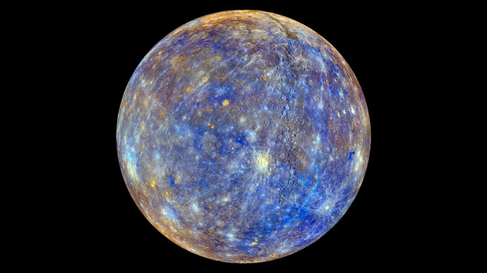 An image of the planet Mercury (Reuters / NASA / Johns Hopkins University Applied Physics Laboratory / Carnegie Institution of Washington / Handout)