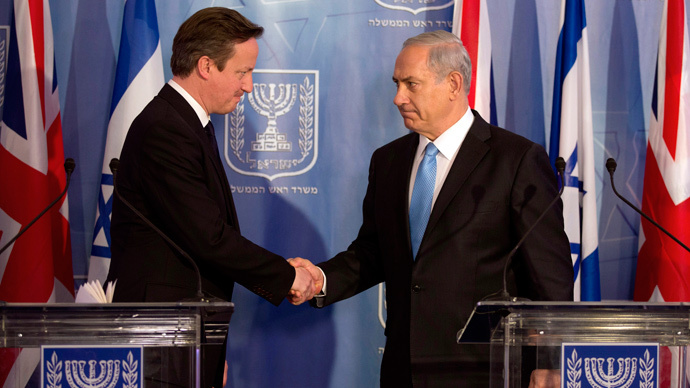 ​Israel had 'right to defend itself' in Gaza war, says Cameron