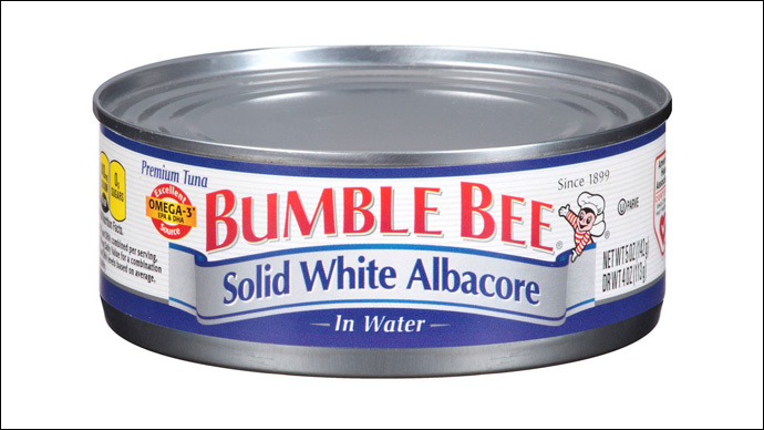 Bumble Bee worker cooked to death with tuna batch