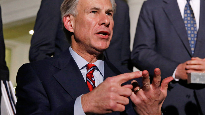 Texas governor Greg Abbott (Rreuters / Larry Downing)