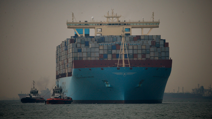 Briton aboard Maersk Tigris cargo ship seized by Iran, FO confirms