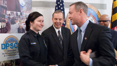 Potential Democratic presidential candidate Martin O'Malley (right) previously served as Baltimore's mayor, then Maryland's governor (facebook.com/MartinOMalley)