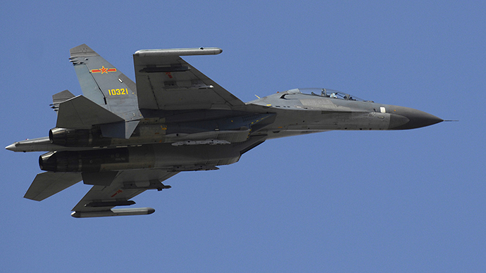 ​China's advanced J-11D heavy fighter jet takes maiden flight