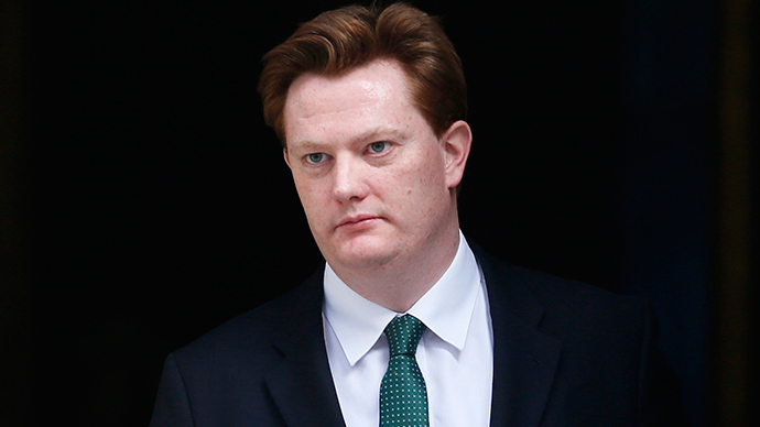 Britain's Chief Secretary to the Treasury Danny Alexander (Reuters / Stefan Wermuth)