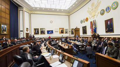 House Armed Services Committee hearing (Image from af.mil)